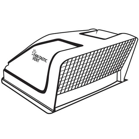 fan tastic ultrabreeze vent cover fan tastic ultrabreeze vent cover black ebay