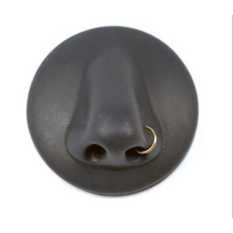 solid gold open nose ring