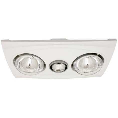 white bathroom light bm2w bathroom heat light white