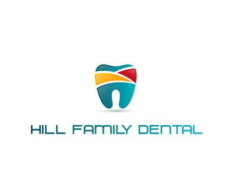 design hill logo dental logo design for hill family dental by artistik