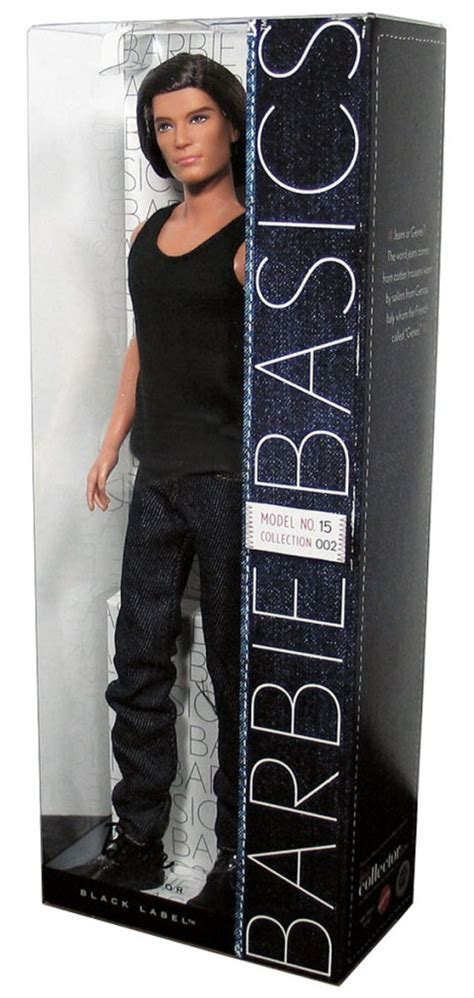 BARBIE BASICS Ken Doll Muse Model No 15 015 15.0