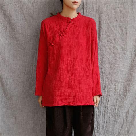 Ethnic Linen Blouse style sleeve linen blouses vintage