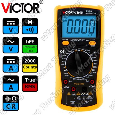 Multimeter Digital Malaysia victor vc890d true rms digital end 6 3 2017 1 59 am myt