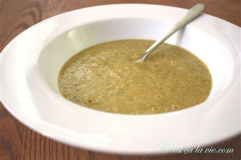 potage aux poireaux recette facile