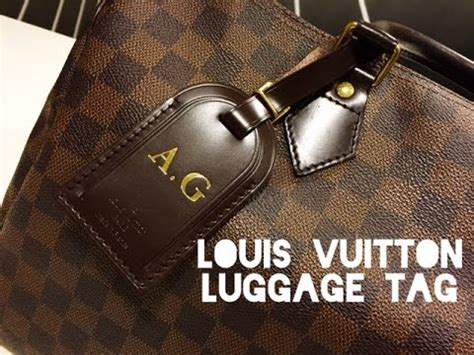 what to put on tag louis vuitton luggage tag how to put it on