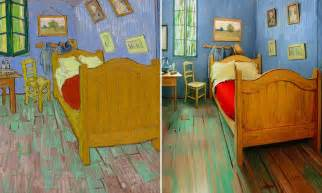 Vincent Van Gogh The Bedroom artistas recriam o ic 244 nico quarto de van gogh e o