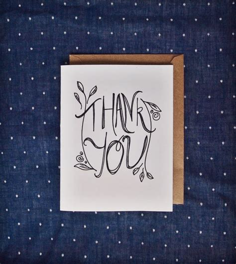 Handmade Thank You Notes - thank you card thanks thank you thank you note handmade