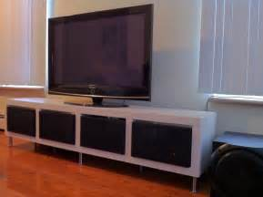 ikea tv stands clean minimalist tv stand ikea hackers ikea hackers