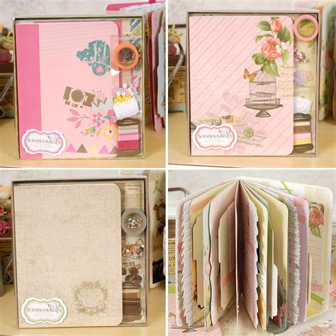 Scrapbook Diy Kit Retro Aliexpress Buy Eno Greeting Retro Complete Scrapbook