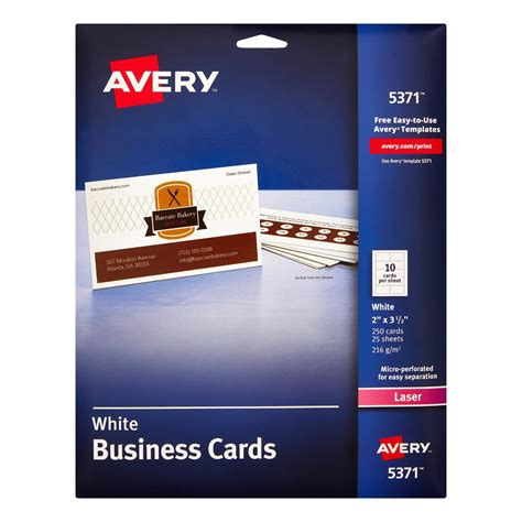 how to use avery business card templates in word avery