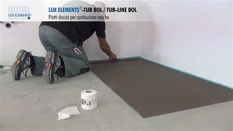 come montare una cabina doccia montaggio elements piatti doccia a filo pavimento tub
