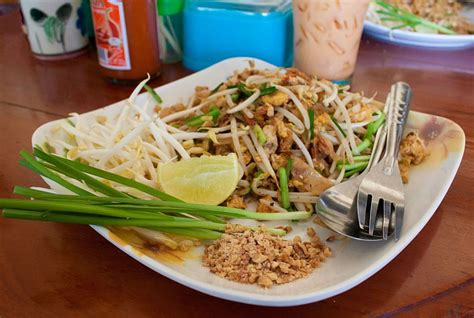 pad thai noodles famous street food 187 temple of thai food