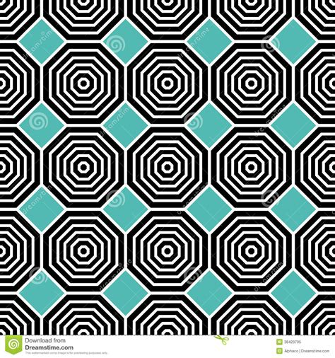 octagon pattern vector octagon pattern stock vector illustration of decor