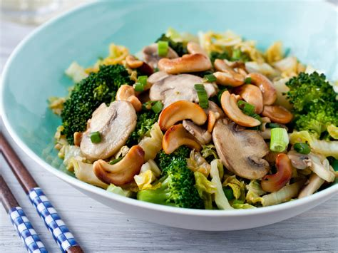 stir fried vegetables with toasted cashews recipe quick