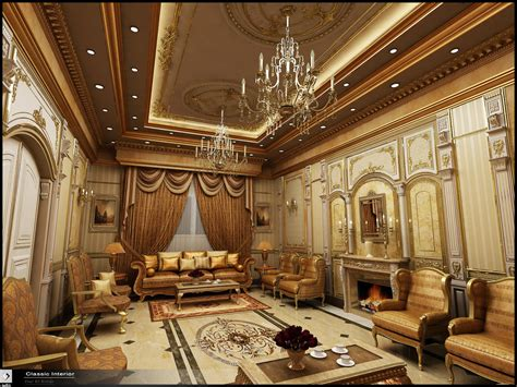 classic home interior design classic interior in ksa by amr maged deviantart com on
