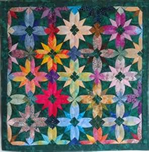 Japanese Patchwork Quilts - 86 best images about japanese folded quilt sqares on