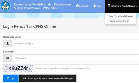 email kemdikbud pendaftaran cpns kemendikbud online 2014 cpns kemdikbud go