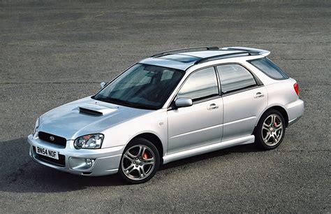 subaru wrx sport wagon subaru impreza wrx sport wagon uk spec gga 2003 05