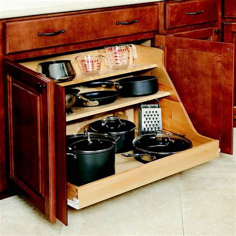 kitchen pull out drawers for pot storage front porch cozy 34 insanely smart diy kitchen storage ideas