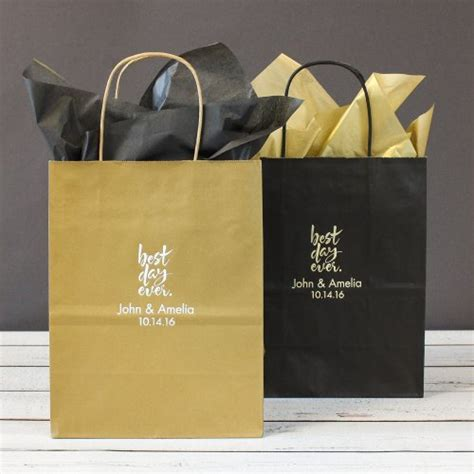 Gift Bags Wedding by Personalized Gift Bags Wedding Gift Bags Personalized