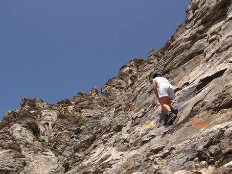 Kamamata Trail climb last part of trail to summit of mt olympus mytikas greece