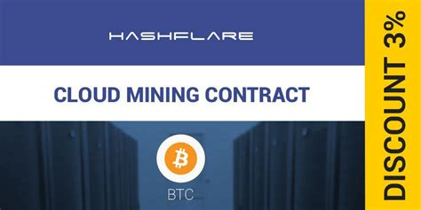 Bitcoin Mining Cloud Computing 1 by Hashflare Offers Cheapest Bitcoin Cloud Mining Discount