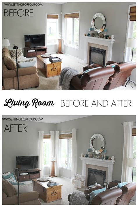 my room makeover my quickandeasy living room before after makeover