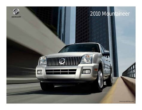 service and repair manuals 2010 mercury mountaineer interior lighting service manual 2010 mercury mountaineer gps housing removal mercury mountaineer 2006 2007
