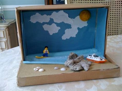 shoe box crafts for shoebox diorama exles