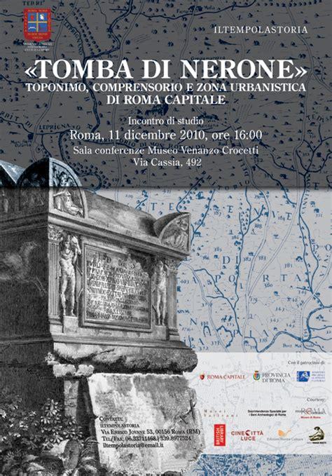 ufficio urbanistica roma 171 tomba di nerone 187 toponimo comprensorio e zona
