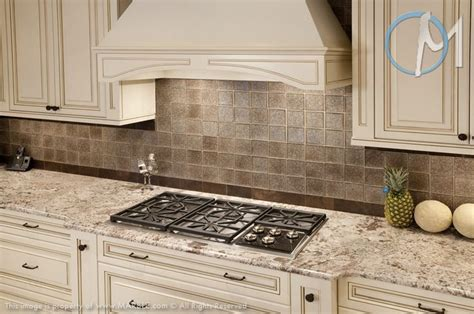 bianco antico is the perfect match to the tile backsplash