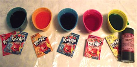 how to color eggs with kool aid diy easter egg coloring with kool aid the frugal