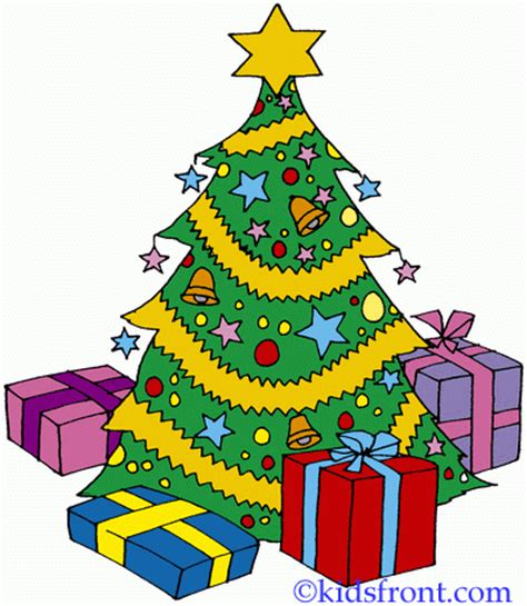 printable christmas tree with presents christmas tree coloring pages for kids to color and print