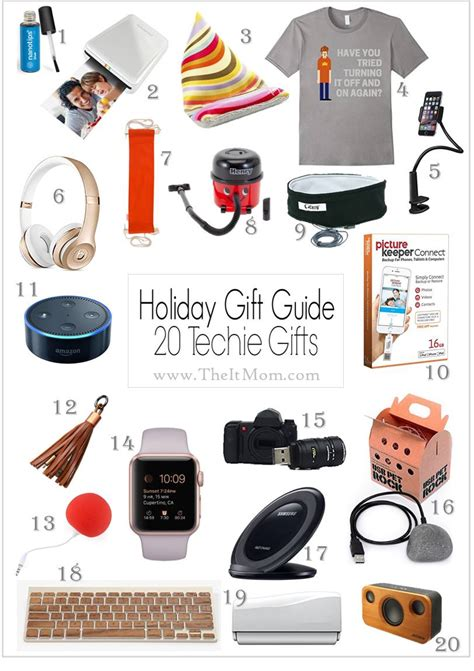 techy gifts gift guide of over 20 tech gadgets to buy for techies