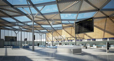international home interiors 3d airport interior model 3d environments