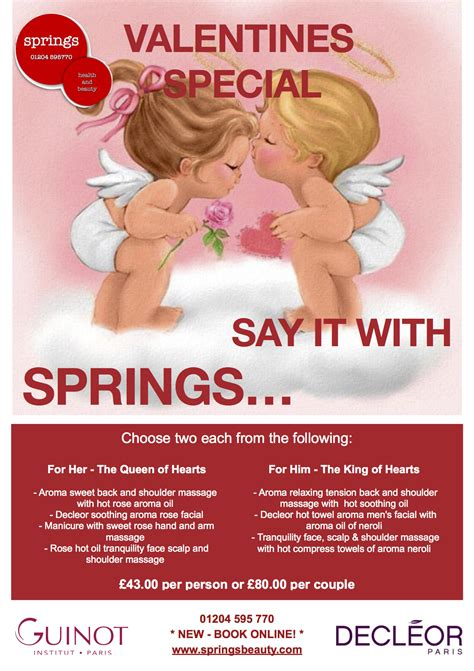 Cosmetics Special Offer by Valentines Specials At Springs
