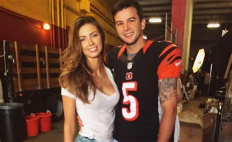 aj mccarron wife katherine webb pumped for playoff game