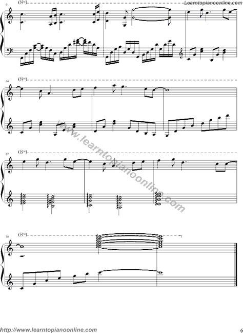 tutorial piano wind of change the wind of change bandari 6 free piano sheet music