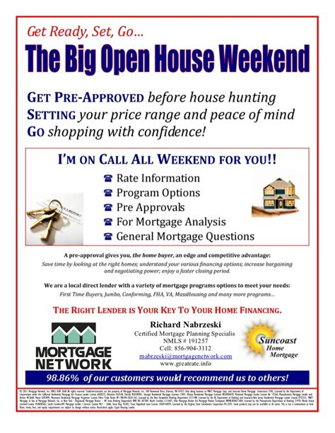 mortgage open house flyers realtor open house weekend flyer