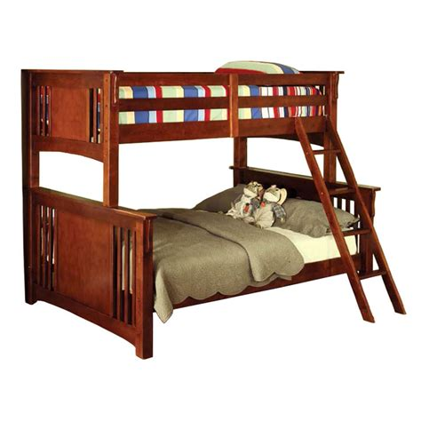sears bunk bed twin over full bunk bed mission style at sears