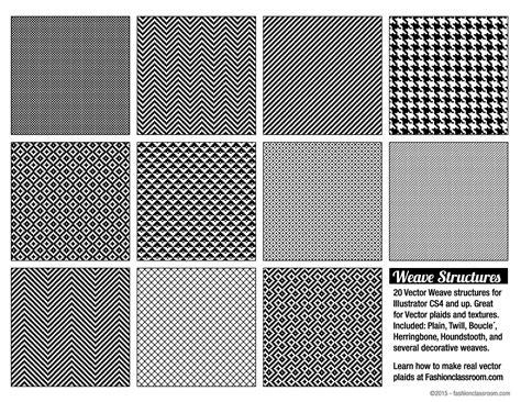 ai weave pattern vector weave structures 187 goodies 187 fashionclassroom com
