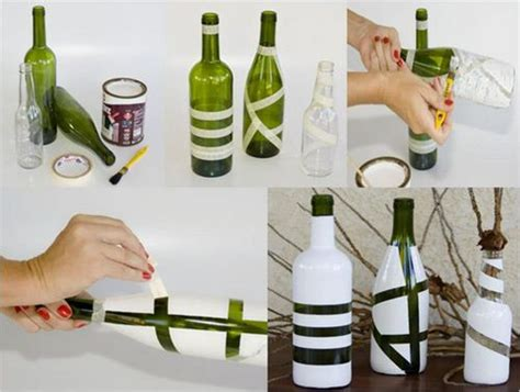glass bottle craft as a home decor crafts and arts ideas diy glass bottle crafts ideas