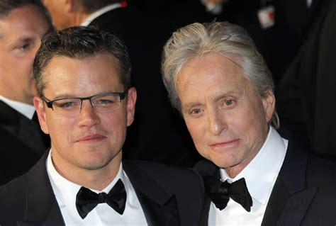 michael douglas matt damon matt damon michael douglas competing and presenting