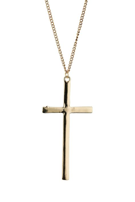 simple cross pendant jewellery box