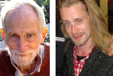 home alone snow shovel guy actor macaulay culkin is growing up to be the old man from home
