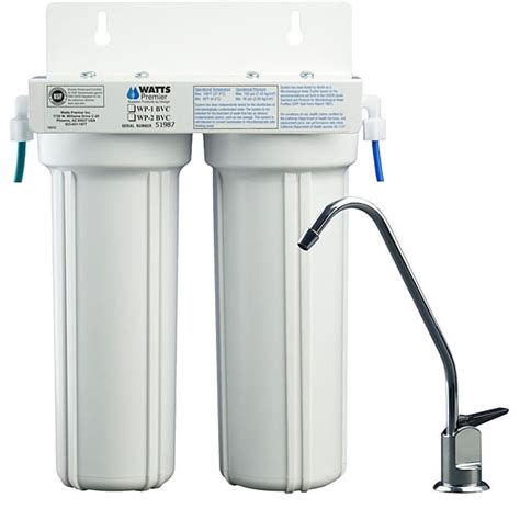 Two Stage Under Counter Water Filter 11367667