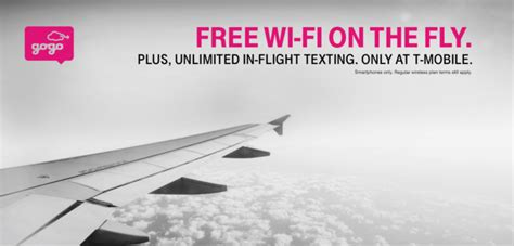 t mobile inflight wifi get free wi fi on your next flight with t mobile the