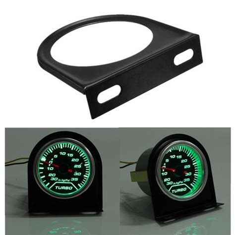 Meter Mount Holder Pod 52mm 2inch universal car black metal dash meter