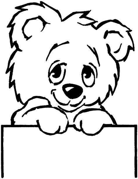 simple bear coloring pages simple teddy bear drawing clipart best