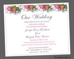 wedding invitations wording sles informal wedding invitation wording sles wordings and messages